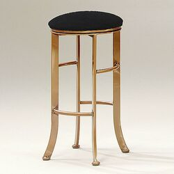 High Rise Backless Contemporary Swivel Barstool