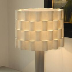 Loop Synthetic / Natural Felt Drum Lamp Shade
