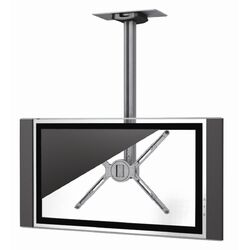 Single Monitor Universal Flat Panel Ceiling Mount (30