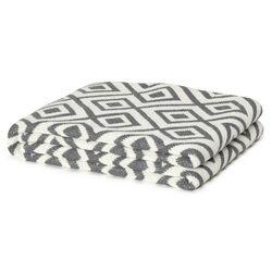 Eco Designer Mod Squares Throw Blanket
