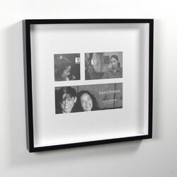 Two Tone Picture Frame Collage