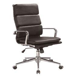 Modrest Edge Modern High-Back Leather Office Chair