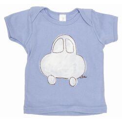 Car Lap T Shirt in Blue