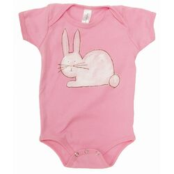Bunny One-Piece in Pink