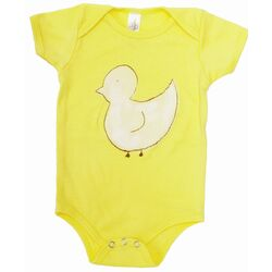 Duck One-Piece in Yellow