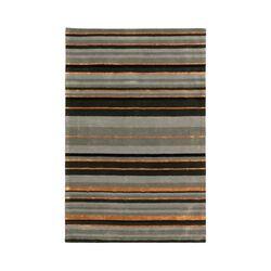 Ashlee Grey Stripe Area Rug