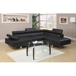 Bobkona Atlantic Sectional Sofa