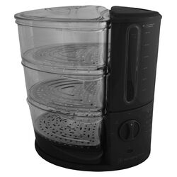 Wolfgang Puck® 9.5-Quart 3-Tier Rapid Food Steamer