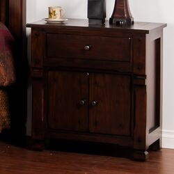 Santa Fe 1 Drawer Nightstand