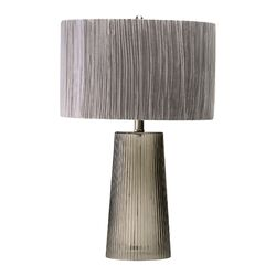 Club Table Lamp in Smoked Gray