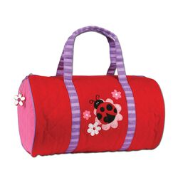 Ladybug Quilted Duffel