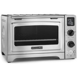 1 Cubic Feet Stainless Steel Convection Countertop Oven