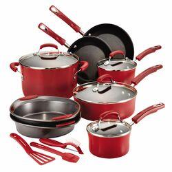 Hard Enamel 15-Piece Cookware Set