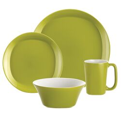 Round & Square 16 Piece Dinnerware Set