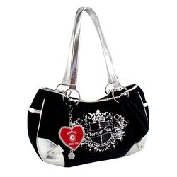 NCAA Sport Luxe Fan Football Hobo Bag