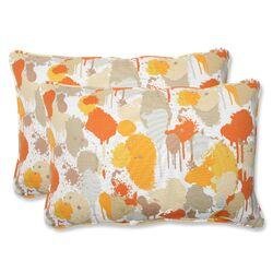 Paint Splash Throw Pillow
