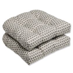 Seeing Spots Wicker Seat Cushion