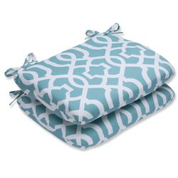 New Geo Outdoor Dining Chair Cushion