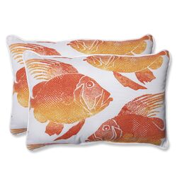 Fish Rectangular Throw Pillow