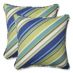 Browning Sunblue Throw Pillow