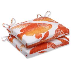 Fish Outdoor Dining Chair Cushion