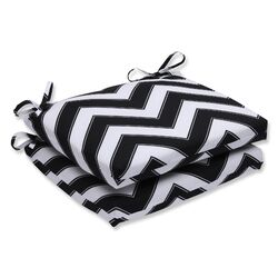 Chevron Outdoor Dining Chair Cushion