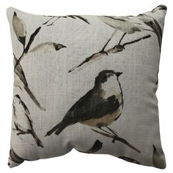 Bird Watcher Cotton / Poly Pillow