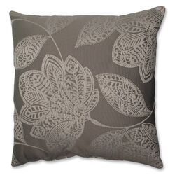 Beatrice Jute Polyester Throw Pillow