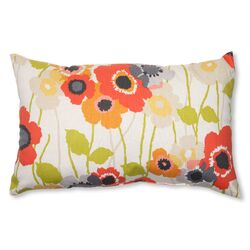 Pic-A-Poppy Lumbar Pillow