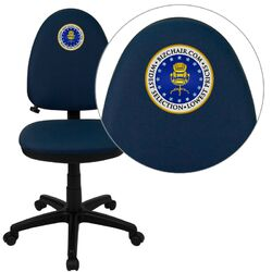Personalized Mid-Back Multi-Functional Task Chair with Adjustable Lumbar Support