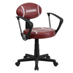 Football Task Chair with Arms