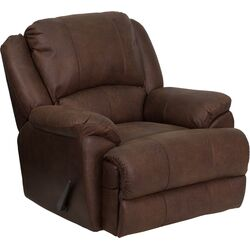 OverStuffed Bomber Jacket Chaise Recliner