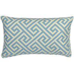 Outdoor Key Prussian Lumbar Pillow