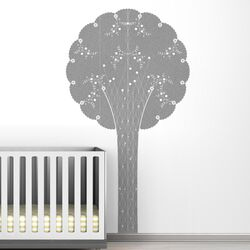 Black Label Cornet Tree Wall Decal