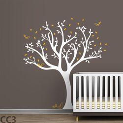 Trees Tweet Wall Decal