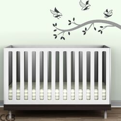 Polka Dot Birds Branch Wall Decal