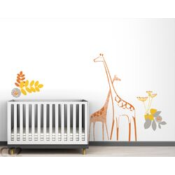 Fauna Backyard Nursery Wall Decal