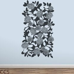 Mural Dahlia Wall Decal