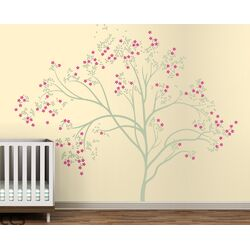 Trees Blossom Large Wall Decal