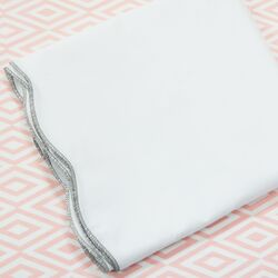 Scallop 2 Piece Crib Bedding Set II