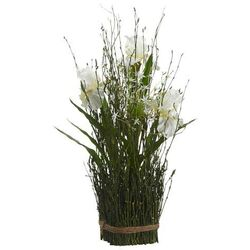 Iris / Allium Twig Standing Bundle
