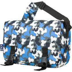 Jumpstart Camo Messenger Bag