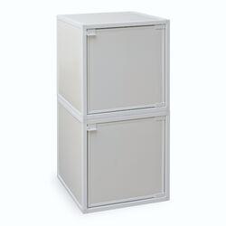 2 Cube Modular Storage Box