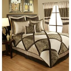 True Safari 4 Piece Comforter Set