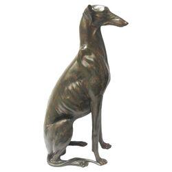Sitting Dog Statue