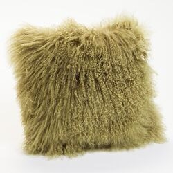 Lamb Fur Wool Pillow (Set of 2)