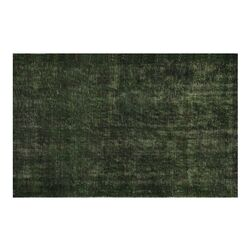 Puzzle Green Area Rug