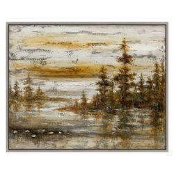 Dusk Painting Print on Canvas