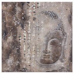 Subtle Buddha I Graphic Art on Canvas