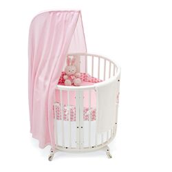 Stokke-Sleepi Bassinet Bumper in Pink Dots
